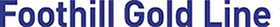Foothill Gold Line  Logo