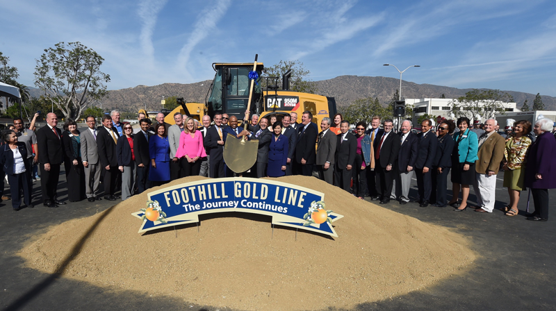 Foothill Gold Line  Logo