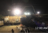 I-210 Gold Line Bridge Concrete Pour Timelapse