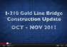 Construction Update Video: October – November 2011
