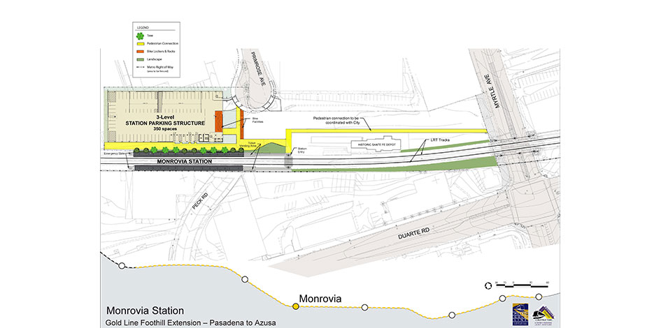 Monrovia foothill gold line click to close site plan publicscrutiny Gallery