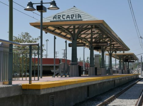 Arcadia Foothill Gold Line
