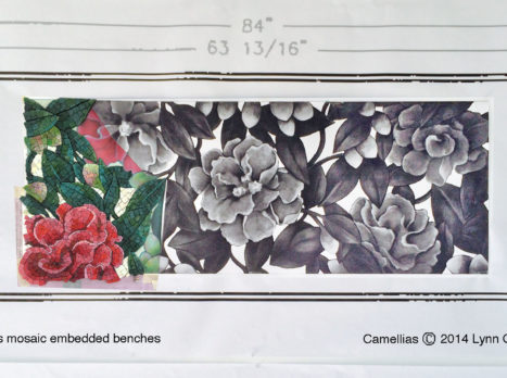Camellia_bench_seats_w_mosaic_progress